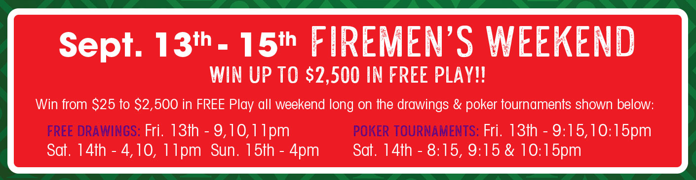 Fireman's Weekend at Gateway 26